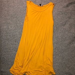 Yellow Tank Top Dress
